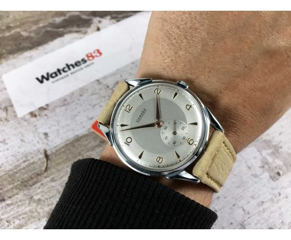 NOS KARDEX Reloj suizo antiguo de cuerda Gran diámetro 39 mm ESPECTACULAR Cal. FHF 26 *** NUEVO DE ANTIGUO STOCK ***