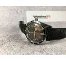 DAFNA (WAKMANN WATCH CO) Automatic vintage watch Cal. Felsa 4007N 20 ATMOSPHERES Large diameter. BROAD ARROW *** DIVER ***