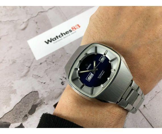 NOS ZODIAC SST 36000 Vintage swiss automatic watch Cal. 86 Ref. 862 974 COLECCIONISTAS *** NUEVO DE ANTIGUO STOCK ***