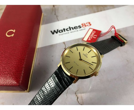 NOS OMEGA DE VILLE 1978 Reloj suizo antiguo de cuerda Cal. 625 Ref. 111.0107 + ESTUCHE *** NUEVO DE ANTIGUO STOCK ***
