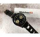 TICIN Vintage Cal. Landeron 248 DIVER manual winding Chronograph watch 20 ATM BROAD ARROW *** BIG TRIANGLE ***