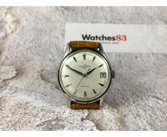 ULYSSE NARDIN Reloj suizo vintage automático Ref. Movement 8500092 Ref. Case 717255 *** ESPECTACULAR ***