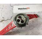 ZentRa SAVOY Swiss manual winding chronograph watch Cal Valjoux 7736 *** SPECTACULAR PANDA DIAL ***