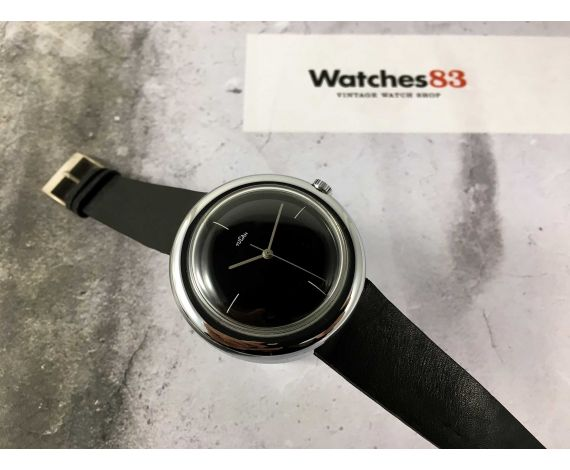 NOS TUCAH FLYING SAUCER Reloj suizo vintage de cuerda manual GIGANTE *** NUEVO DE ANTIGUO STOCK ***