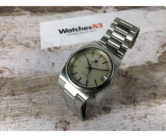 ZENITH SURF Reloj vintage suizo automático Cal 2572 PC Ref 01-1430-380 *** TODO ORIGINAL ***