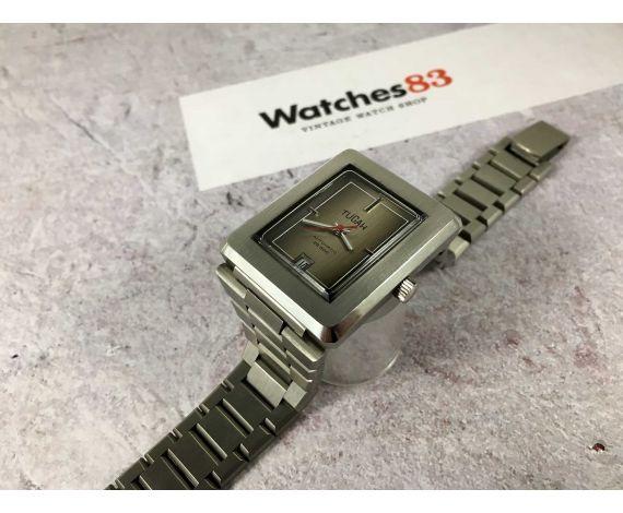 NOS TUCAH Reloj suizo vintage automático NUEVO DE ANTIGUO STOCK 5 ATMOSPHERES Ref 2164 *** ESPECTACULAR ***