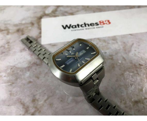 NOS ZODIAC Reloj suizo automático Vintage Ref. 352 969 *** NUEVO DE ANTIGUO STOCK ***