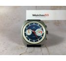 BIG EYE DUGENA Vintage swiss manual winding chronograph watch Cal Valjoux 7733 OVERSIZE *** MINT ***