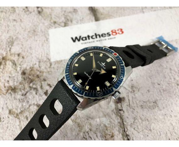 DUGENA WATERTRIP Reloj antiguo de cuerda Cal 7181 (Bifora 115/1) BROAD ARROW *** SKIN DIVER ***