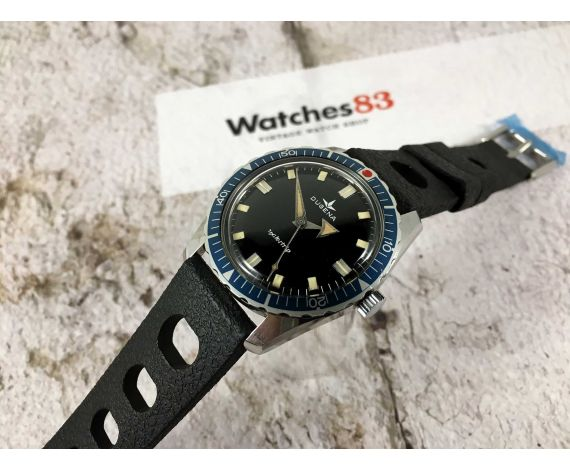 DUGENA WATERTRIP Vintage manual winding watch Cal 7181 (Bifora 115/1) BROAD ARROW *** SKIN DIVER ***
