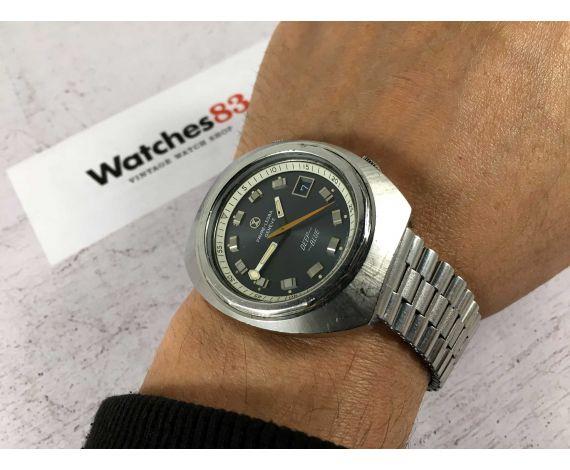 FAVRE LEUBA GENEVE DEEP BLUE Reloj suizo antiguo automático 20 ATM Cal. FL 1165 Ref. 1536 GRAN DIÁMETRO *** COLECCIONISTAS ***