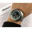 FAVRE LEUBA GENEVE DEEP BLUE Vintage automatic swiss watch 20 ATM Cal. FL 1165 Ref. 1536 LARGE DIAMETER *** COLLECTORS ***