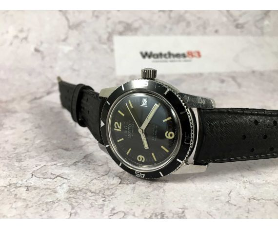 ISCO WATCH Vintage swiss automatic watch 25 jewels 20 ATM Cal. ETA 2452 *** DIVER ***