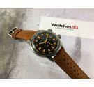 EXACTUS Aquamax vintage swiss automatic watch diver 200 m. lip nautic style Cal. ETA 2782. *** SUPER COMPRESSOR ***