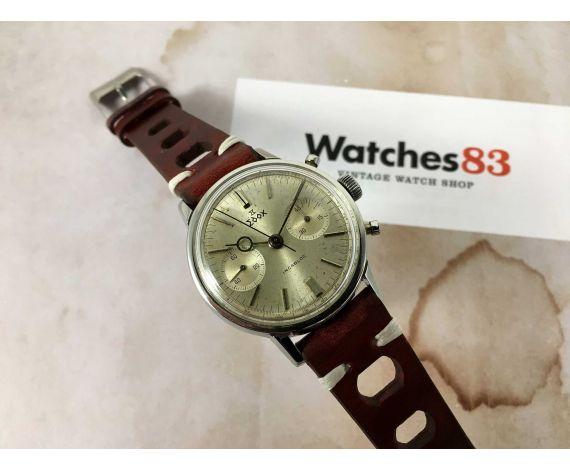 EDOX Reloj Cronógrafo suizo antiguo de cuerda Cal. Landeron 248 *** LOLLIPOP ***