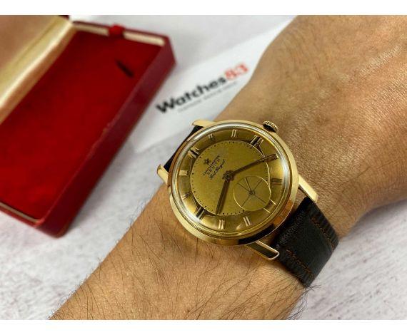 ZENITH PORT ROYAL CHRONOMETRE Reloj suizo antiguo de cuerda Oro amarillo 18k Cal. 135 *** COLECCIONISTAS ***