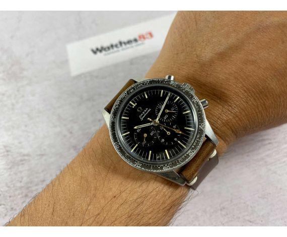 OMEGA SPEEDMASTER ED WHITE Reloj cronógrafo suizo antiguo de cuerda Ref. ST 105.003 - 65 Cal. 321 *** COLECCIONISTAS ***