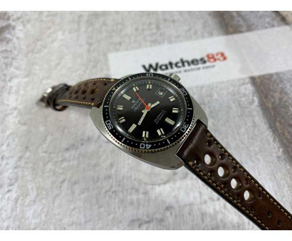 DIVER ONSA AQUARIUS Reloj vintage suizo automático 25 jewels 20 ATM Cal. ETA 2452 *** CORONA ROSCADA ***