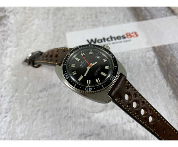 DIVER ONSA AQUARIUS Vintage Swiss automatic watch 25 jewels 20 ATM Cal. ETA 2452 *** SCREW DOWN CROWN ***
