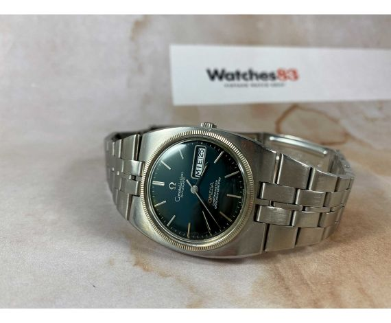 OMEGA CONSTELLATION Chronometer Officially Certified Reloj antiguo automático Ref 168.045 - 368.845 Cal 751 *** DIAL VERDE ***