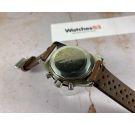 THERMIDOR Reloj Diver cronógrafo suizo antiguo de cuerda 20 ATM Landeron 248 Corona roscada *** DIAL PANDA REVERSO ***