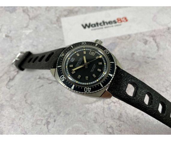 MIREXAL DIVER Reloj suizo antiguo automático 200 METERS 600 FEET Cal. ETA 2472 *** ESPECTACULAR ***