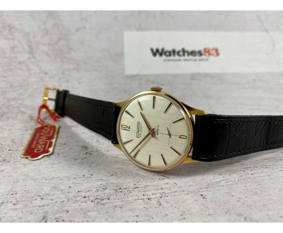 DUWARD SPLENDIT NOS Vintage swiss hand winding watch Plaqué OR *** NEW OLD STOCK ***