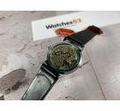 NOS Wolsgen ULTRA FLAT Reloj suizo antiguo de cuerda 17 Rubis Cal. AV 4200 (Aurore Villeret) *** NUEVO DE ANTIGUO STOCK ***