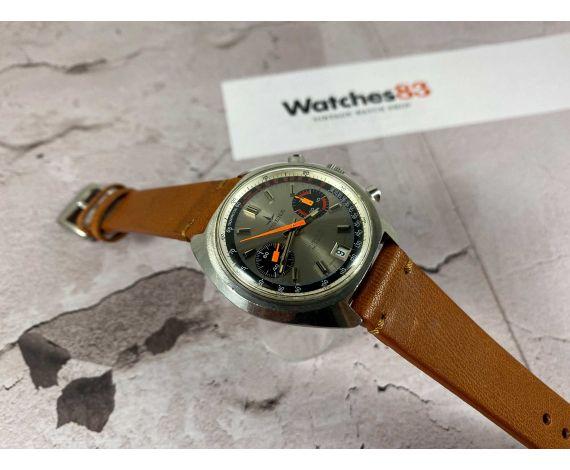 DUGENA Reloj suizo cronografo antiguo de cuerda Cal Valjoux 7734 - 4003 Ref 14003 *** ESPECTACULAR ***