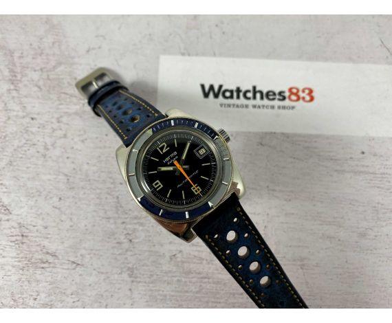 HERMA Calypso Reloj vintage automático DIVER Cal FE4611 *** ESPECTACULAR ***