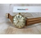 OMEGA Ref. 162.009 Vintage swiss automatic watch 24 JEWELS Cal. 562 *** PLAQUE OR G 20 MICRONS ***