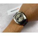 DUGENA Vintage chronograph manual winding watch Cal Dugena 4003 (Valjoux 7734) Ref 157 *** OVERSIZE ***