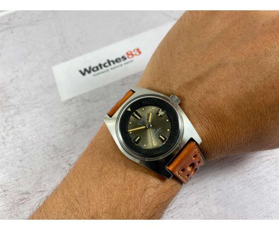 DIVER DUWARD AQUASTAR Vintage swiss automatic watch Cal. AS 1700/01 200 MÈTRES Ref. 1701 *** ICONIC ***