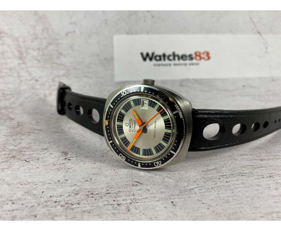 DIVER CONSUL CYRANO Vintage automatic watch 20 ATM 200M Cal. AS 1913 BLANCPAIN Fifty Fathoms APOLLO STRAP *** COLLECTORS ***