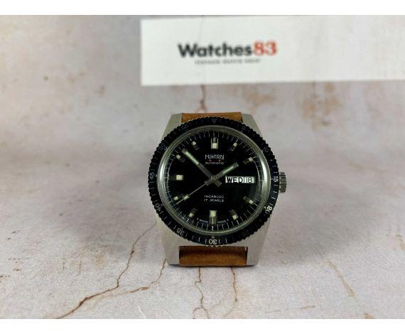 HILTON Reloj vintage suizo automático DIVER Cal. AS 1906 *** ESPECTACULAR ***