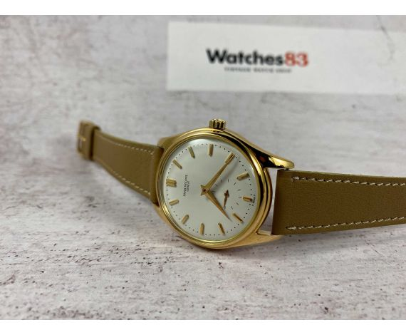 PATEK PHILIPPE CALATRAVA Ref. 2526 Vintage automatic swiss watch 18K Gold Cal. 12-600 AT *** COLLECTORS ***