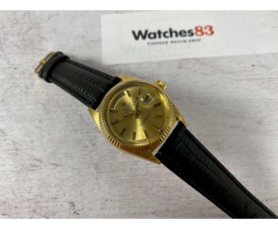 ROLEX DAY DATE PRESIDENT Ref. 1803 Vintage swiss automatic watch CAL. 1556 Yellow Gold 18K *** COLLECTORS ***