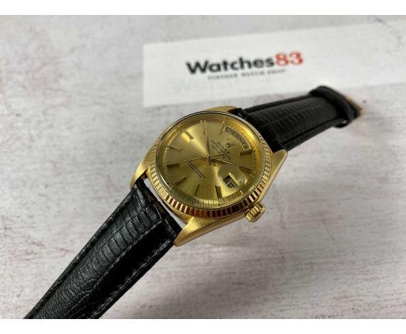 ROLEX DAY DATE PRESIDENT Ref. 1803 Reloj Vintage suizo automático CAL. 1556 Oro Amarillo 18K *** COLECCIONISTAS ***
