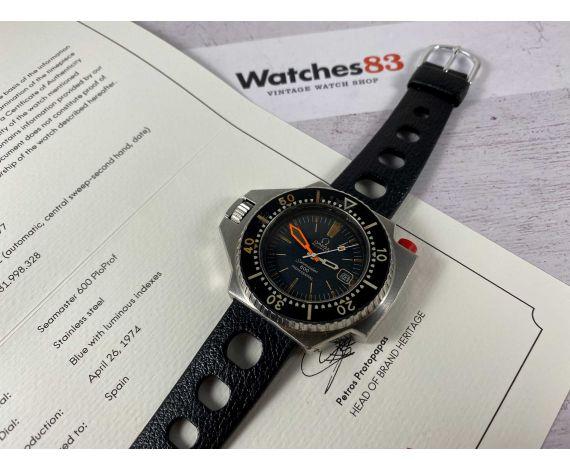 OMEGA SEAMASTER 600 PloProf Reloj DIVER suizo vintage automático 1974 Cal. 1002 Ref. ST 166.077 *** COLECCIONISTAS ***