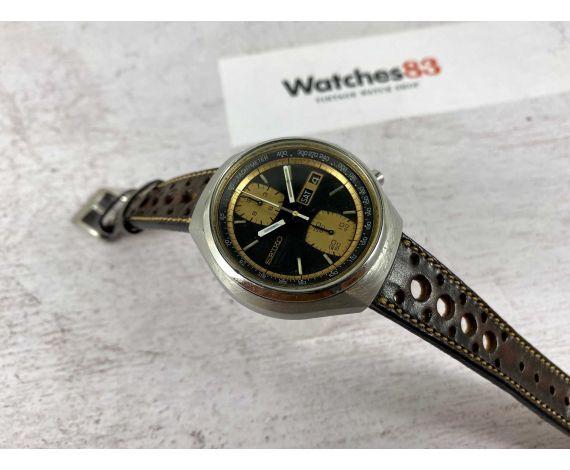 SEIKO JOHN PLAYER SPECIAL Ref. 6138-8030 Reloj cronógrafo antiguo automático Cal. 6138-B JAPAN *** JPS ***
