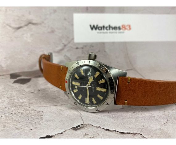 DUBEY & SCHALDENBRAND Reloj suizo antiguo automático DIVER SNOWFLAKE HANDS Cal. ETA 2472 *** PRECIOSO ***
