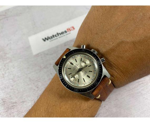 DATZWARD Reloj Diver vintage suizo de cuerda cronógrafo Cal. Landeron 248 *** ESPECTACULAR ***