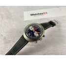 N.O.S. HUMA Vintage chronograph manual winding watch Cal Valjoux 7734 AWESOME *** NEW OLD STOCK ***
