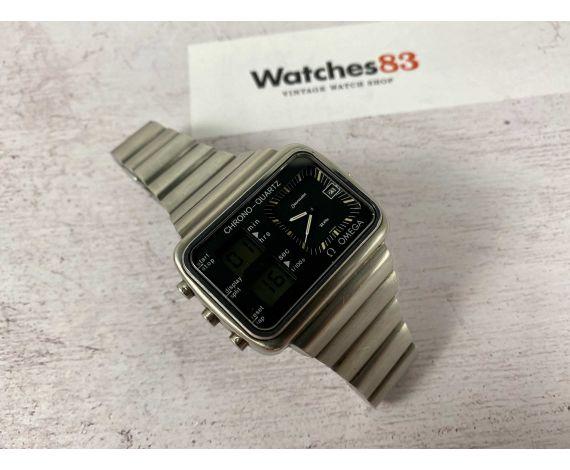 OMEGA SEAMASTER CHRONO-QUARTZ ALBATROS MONTREAL 1976 Ref. 1960052 Vintage Swiss quartz watch Cal. 1611 *** COLLECTORS ***