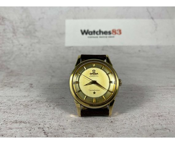 OMEGA CONSTELLATION Reloj vintage suizo automático CHRONOMETER Ref. 14381-2 Cal. 551 *** TODO ORIGINAL ***