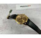 NOS MIRAMAR Genève Reloj suizo antiguo de cuerda Plaqué or. *** NUEVO DE ANTIGUO STOCK ***