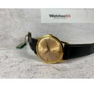 NOS MIRAMAR Genève Vintage hand wind watch Plaque or. *** NEW OLD STOCK ***