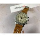UNIVERSAL GENEVE AERO-COMPAX Vintage swiss hand winding chronograph watch 24H Cal. UG 90 Venus 178 *** COLLECTORS ***