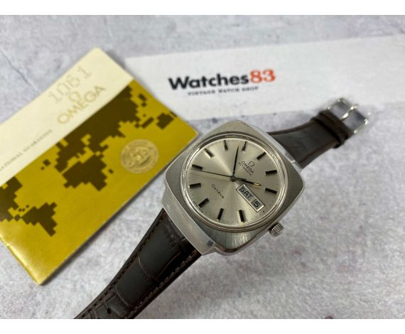 OMEGA Genève Vintage swiss automatic watch Ref 166.0170 Cal 1022 *** DOCUMENTATION + BOX ***