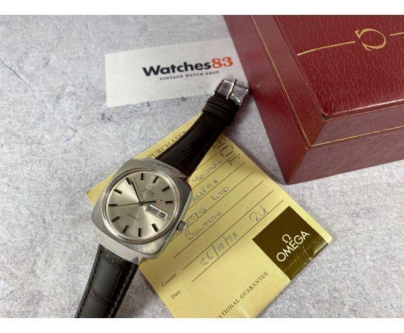 OMEGA Genève Reloj suizo antiguo automático Ref 166.0170 Cal 1022 *** DOCUMENTACIÓN + ESTUCHE ***